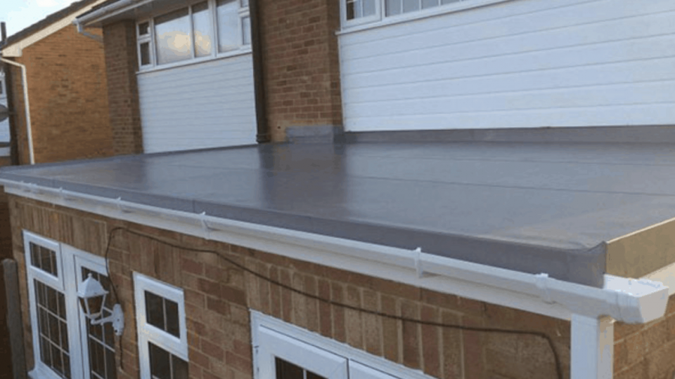 EPDM Rubber Flat Roofs Northampton - LD Roofing Services Ltd