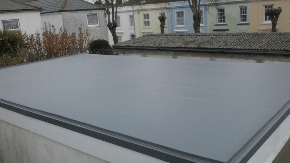 GRP Fibreglass Flat Roofs Northampton - LD Roofing Services Ltd