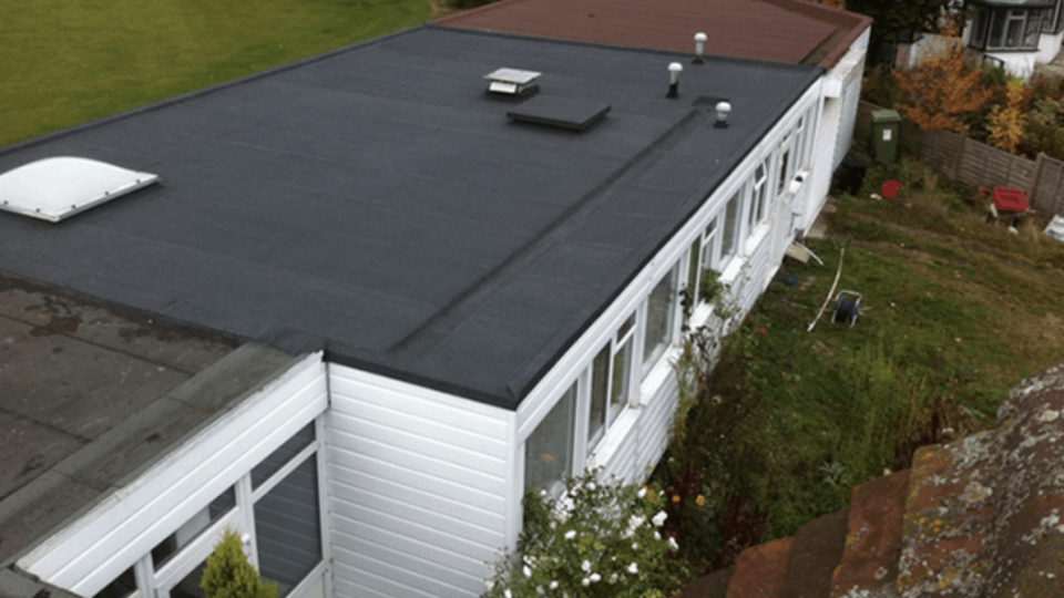 Felt Flat Roofs Northampton - LD Roofing Services Ltd